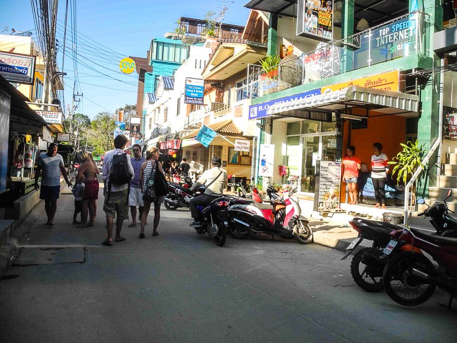Главная улица Ко Самет