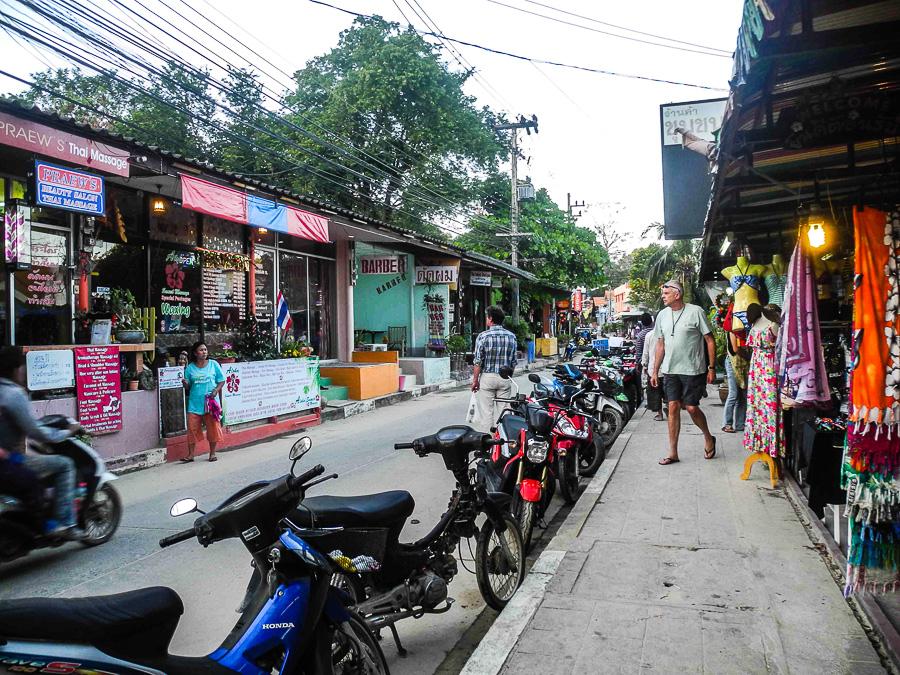 Главная улица на Ко Самет