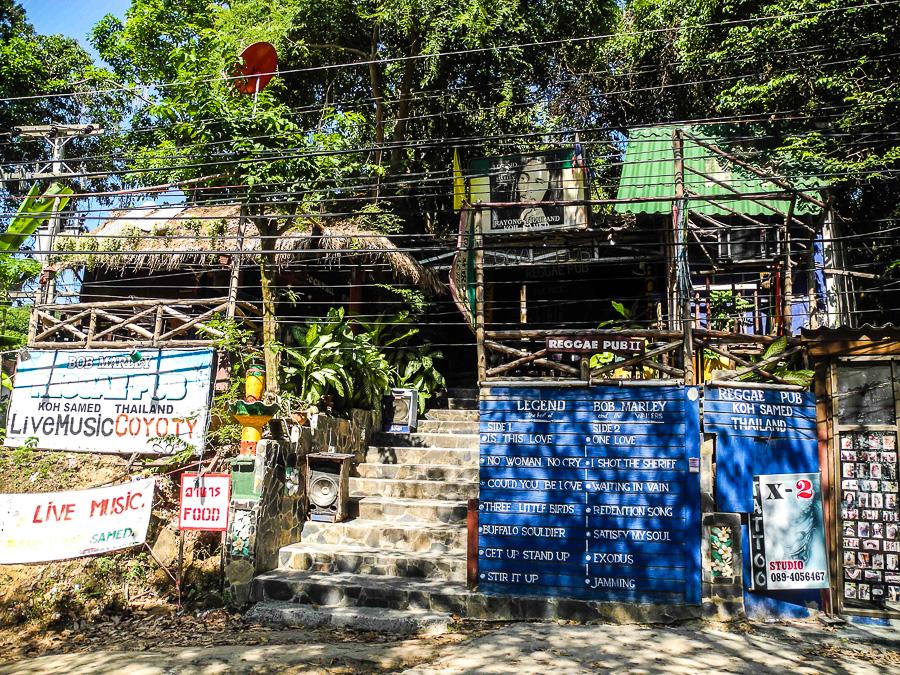 Растаманское кафе на Ко Самет