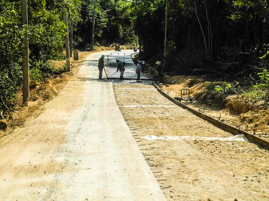 Строительство дорог на Самете