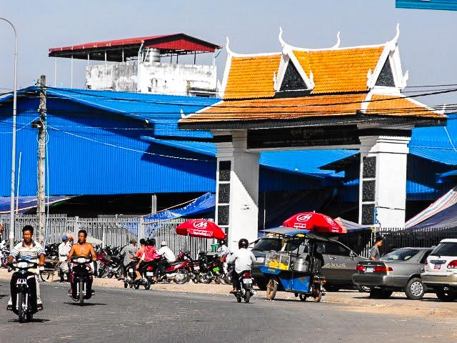 Рынок Phsar Leu в Сиануквиле