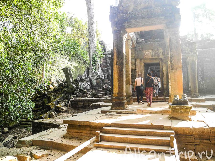 Вход в храм Ta Prohm