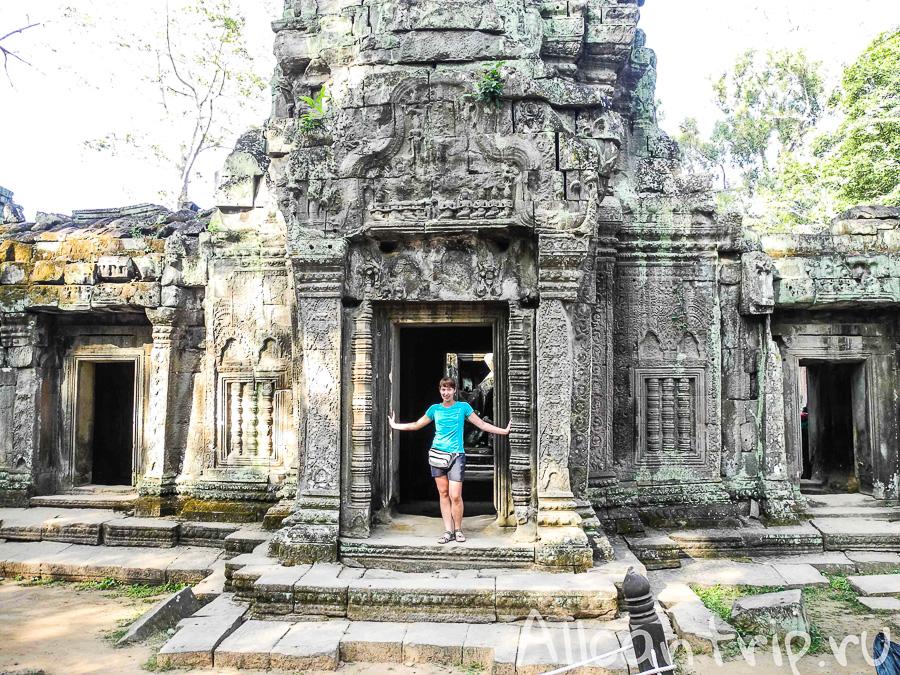 Храм Анджелины Джоли в Камбодже Ta Prohm