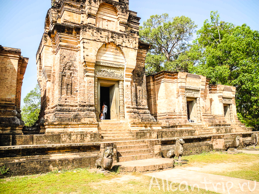 Prasat Kravan в Камбодже