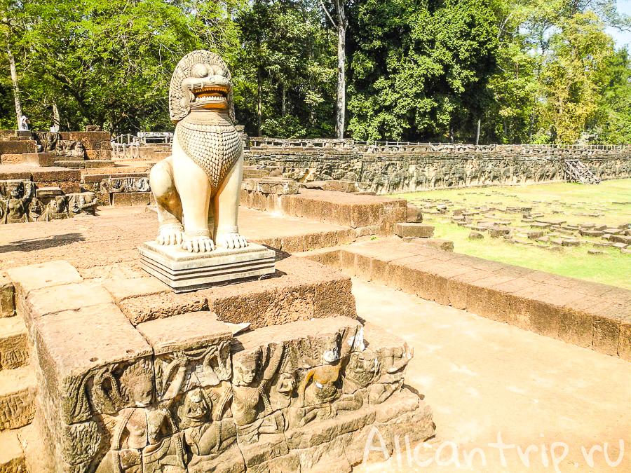 Терраса слонов - Ангкор, Сием Рип