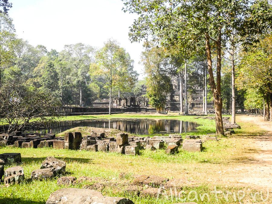 Окрестности храма Бапхуон в Сием Рипе