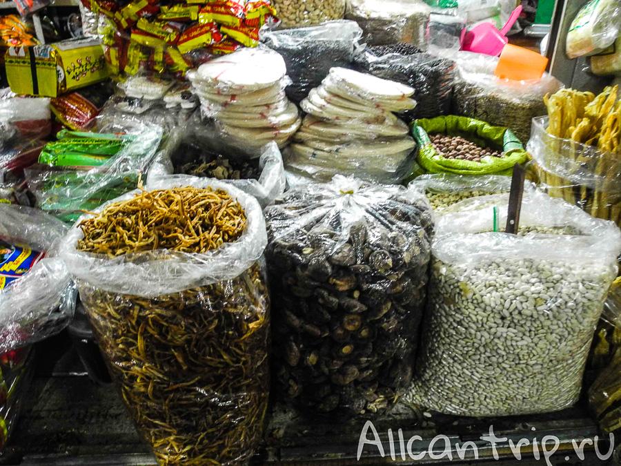 На рынке Phsar Leu в Сиануквиле