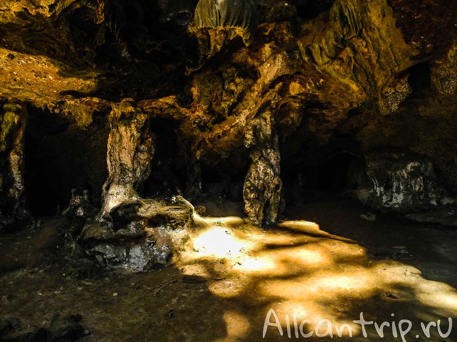 Пещеры Пляж Прананг Краби