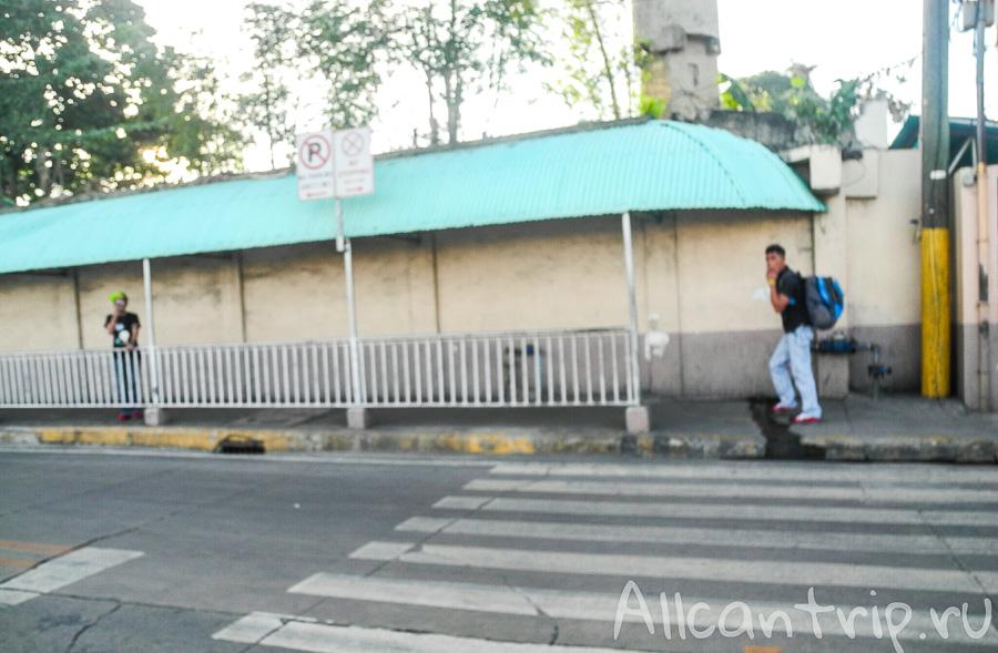 Дорога с 3 пирса на острове Себу