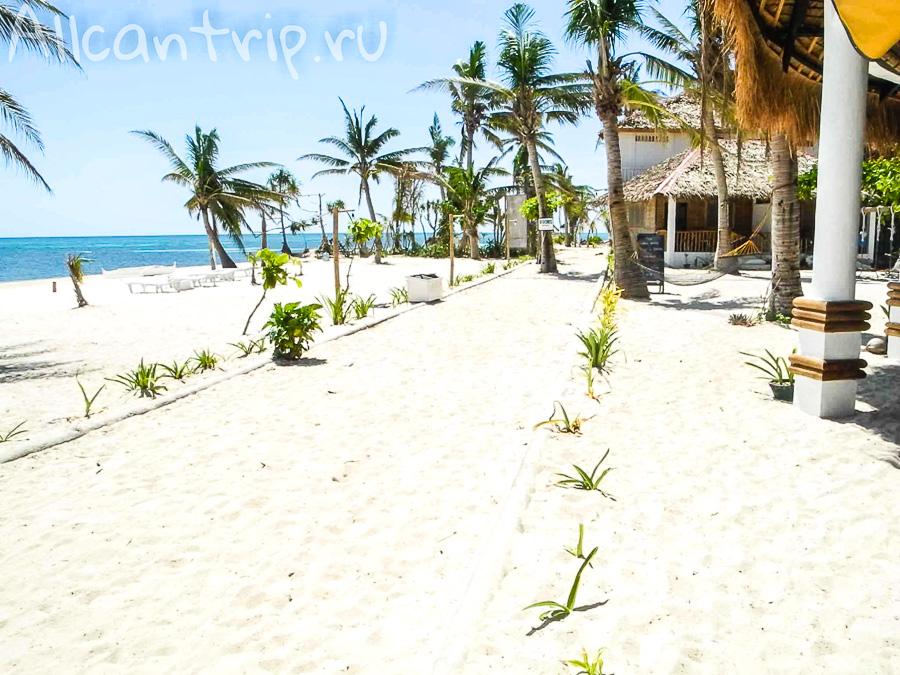 Пляж на Малапаскуа