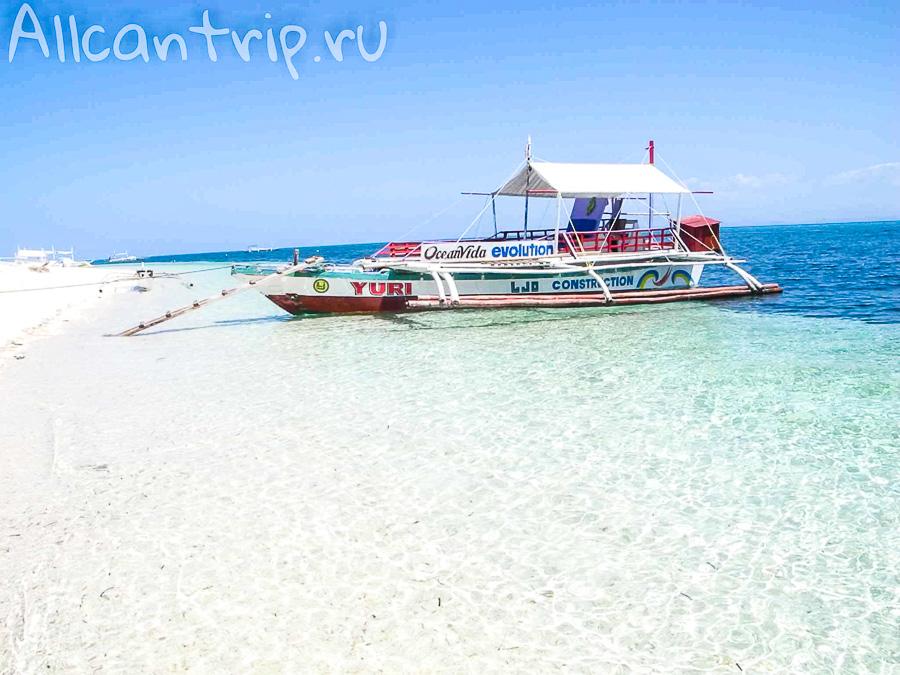 Пляж на острове Малапаскуа