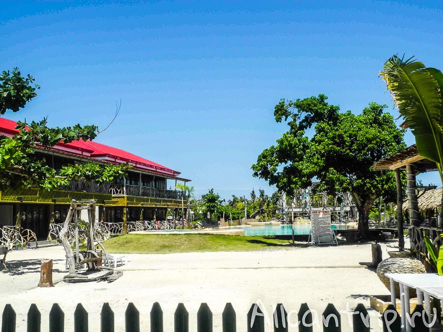 Восстановленные резорты на острове Малапаскуа