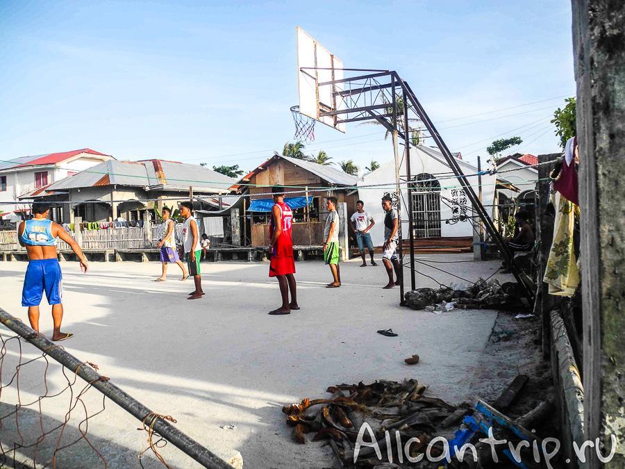 Баскетбол на Малапаскуа