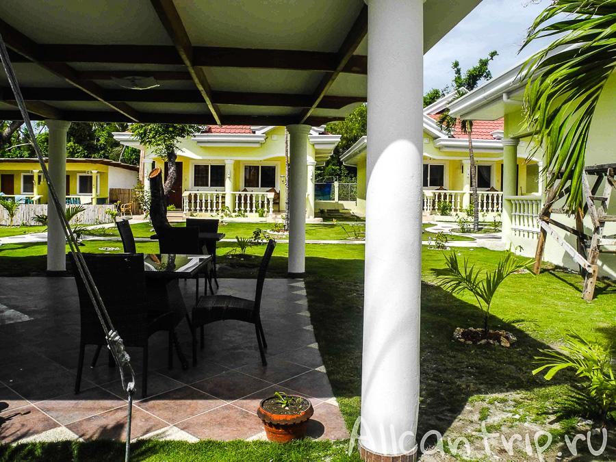 Восстановленный отель на Малапаскуа