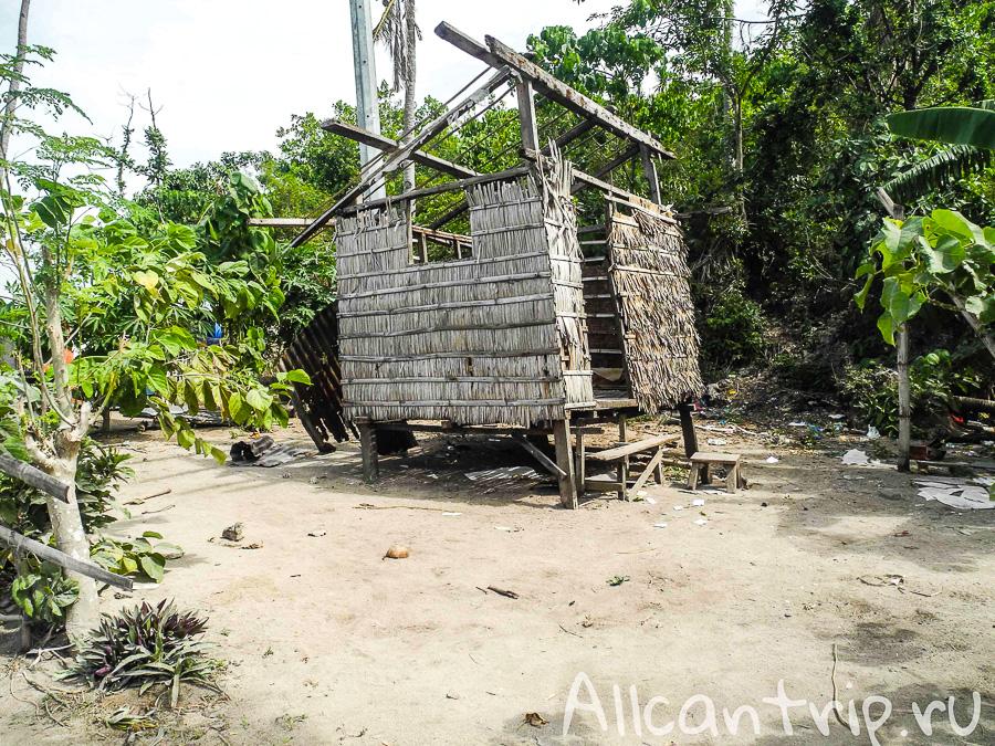 Разрушения острова Малапаскуа