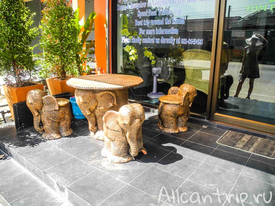 Кафе в Бан Пхе