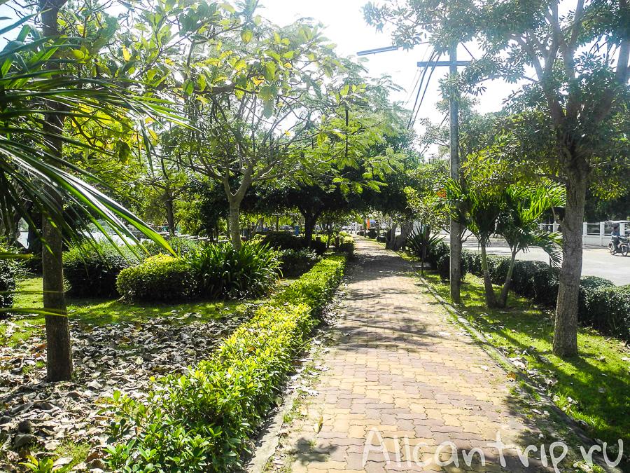 Уютные дорожки Бан Пхе