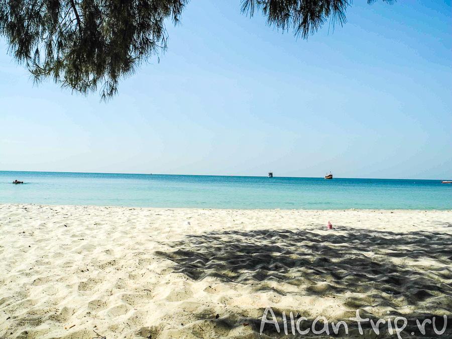 Пляж Serendipity в Сиануквиле