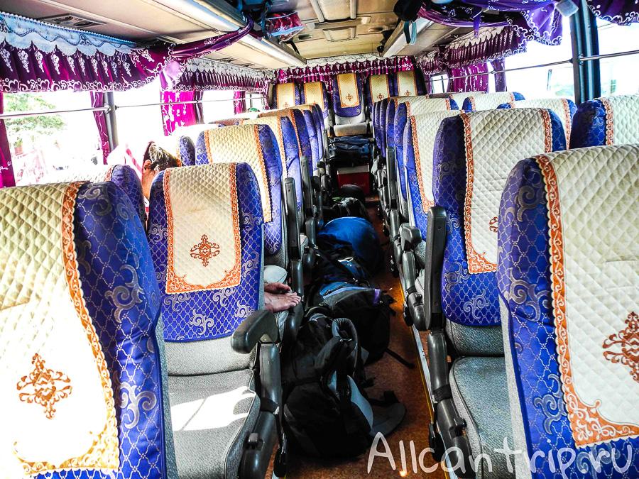Автобус Сиануквиль - Кох Конг