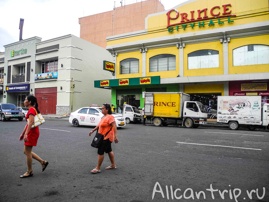 На улицах Себу