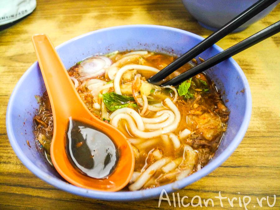 Лакса - национальная малайская еда