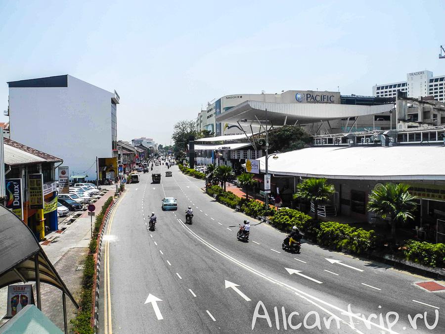 Супермаркет Pacific на Пенанге