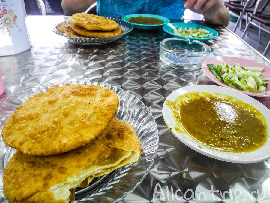 Индийская еда в Джорджтауне Пенанг