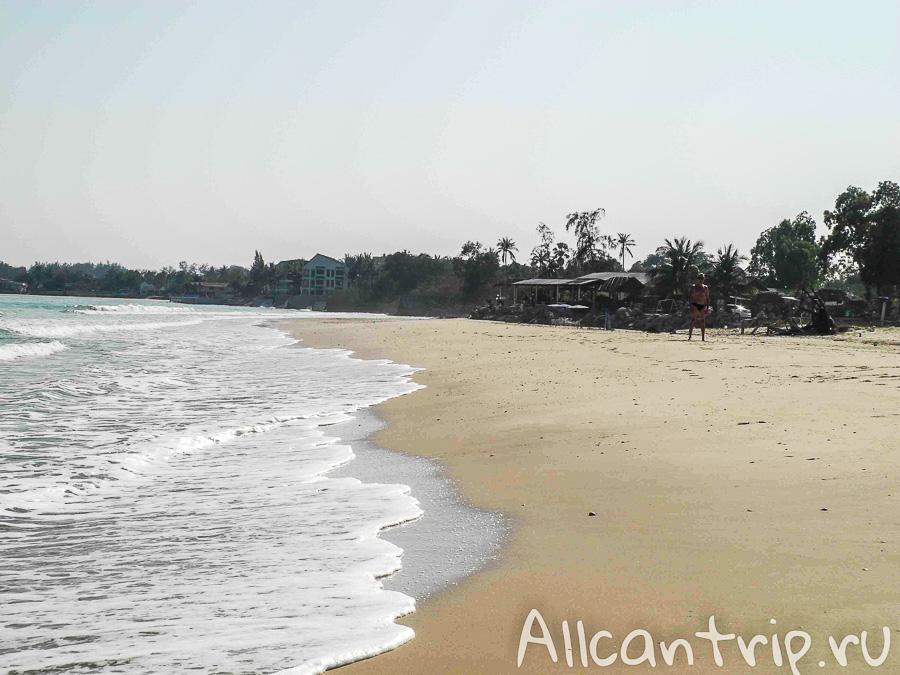 Пляжи Ча Ам