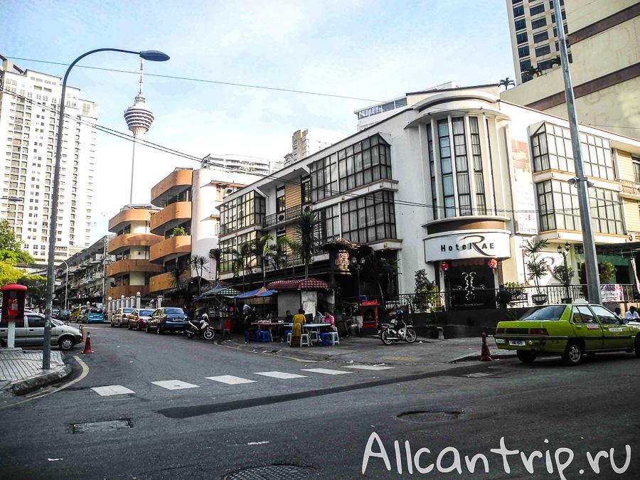 Центр Куала-Лумпур и башня Менара