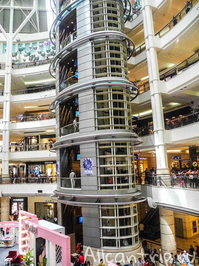 Торговые центры в башне Петронас Куала-Лумпур