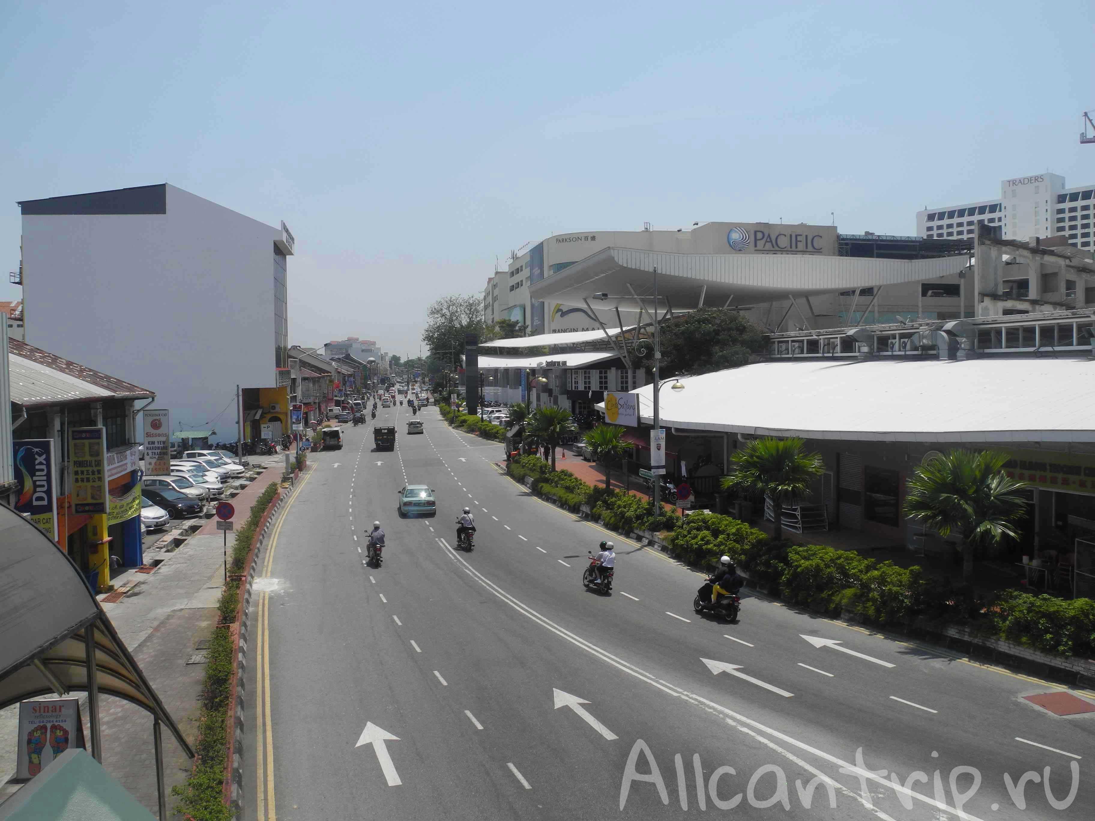Улицы Джорджтауна Пенанг
