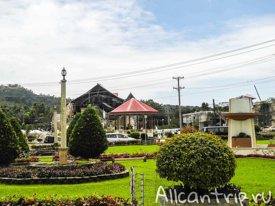 Город Лобок на острове Бохол