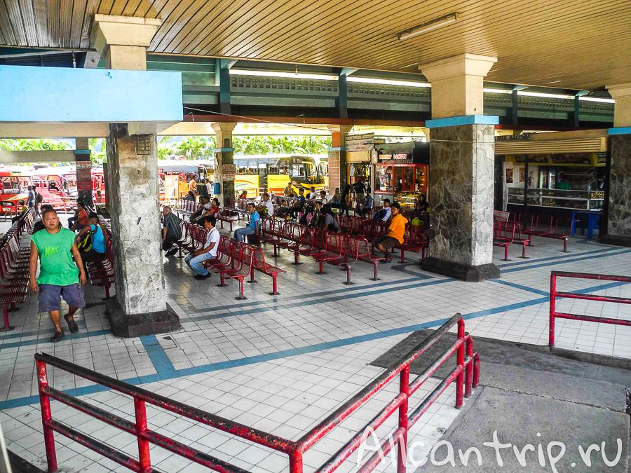 Северный автовокзал Себу