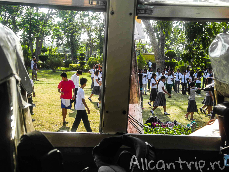 Школа на Себу
