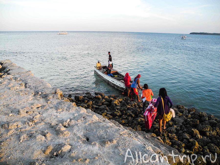 Лодка от Майя до Малапаскуа