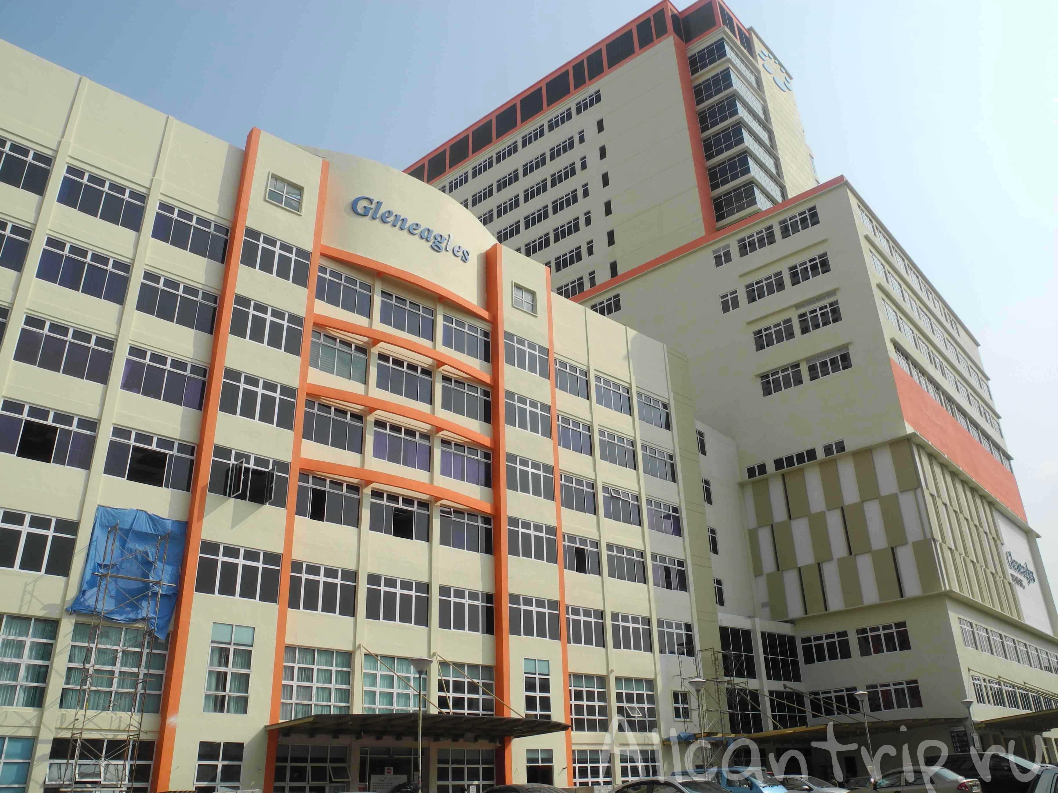 Страховой случай в Малайзии, Пенанг, Gleneagles