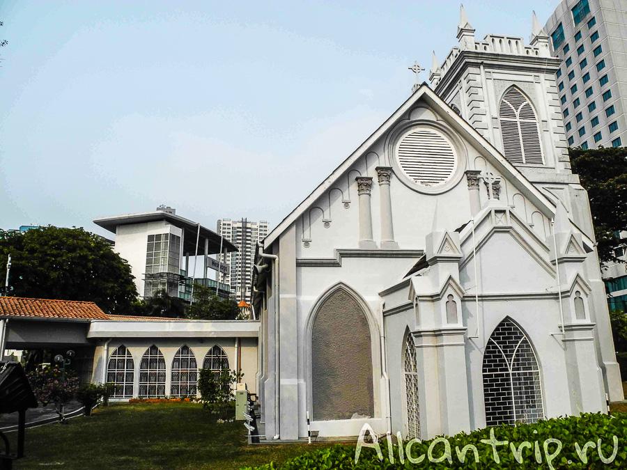 Религии в Джорджтауне на острове Пенанг