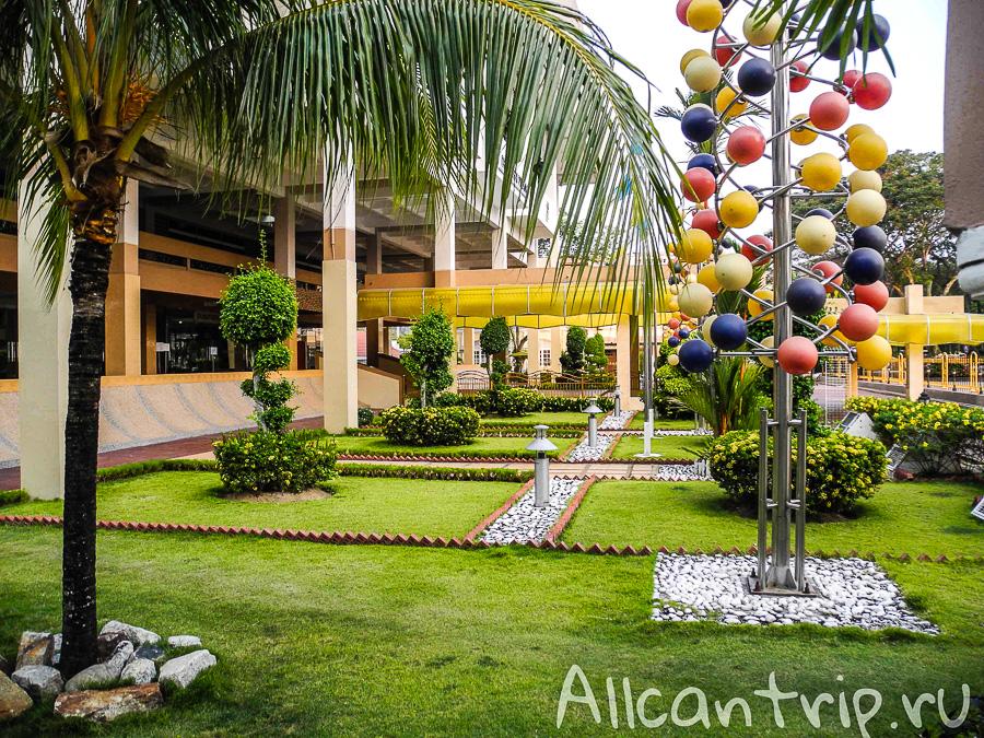Уютные дворики в Джорджтауне на острове Пенанг