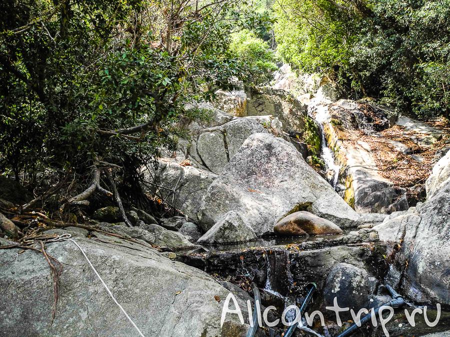 Водопад Waterfall 2 на Самуи
