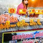 Воскресный ночной рынок на Самуи, Ламай (+видео)