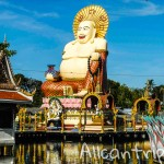 Храмовый комплекс Wat Plai Laem на Самуи