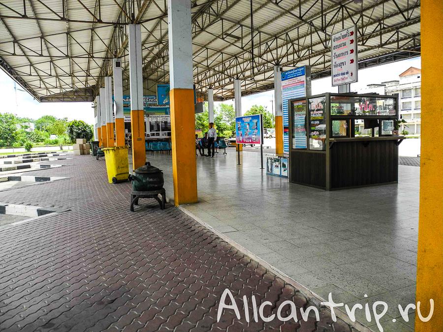Автостанция в Чумпхоне