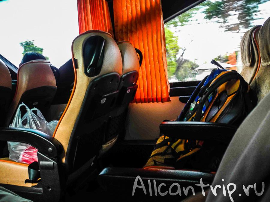 Из Самуи в Бангкок на автобусе