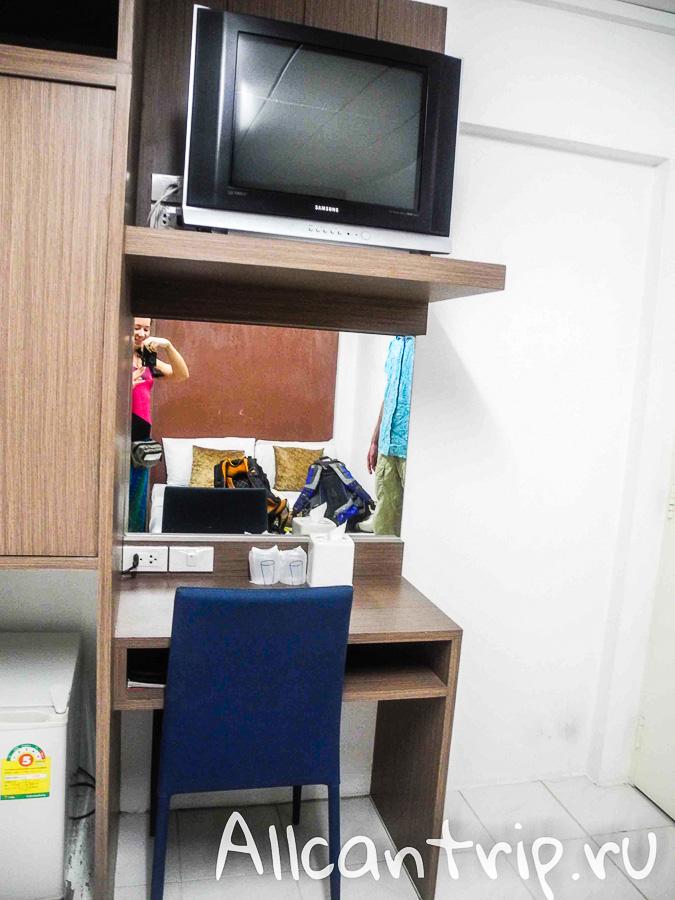 Бюджетный отель в Бангкоке Riski Residence