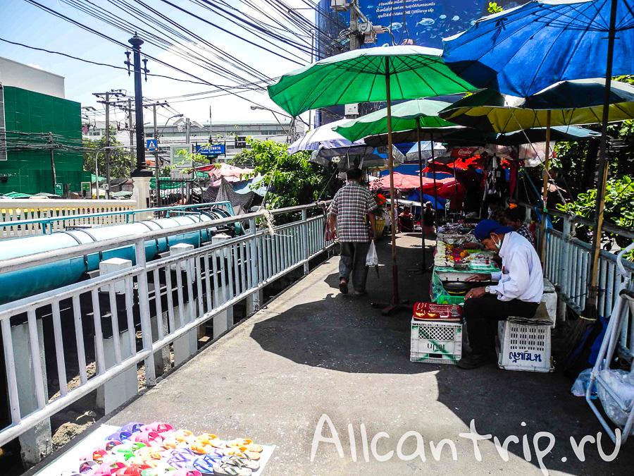 Фруктовый рынок на Самсен Роад (Samsen road)
