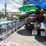 Улица Samsen road в Бангкоке. Нетуристические цены недалеко от Каосан.