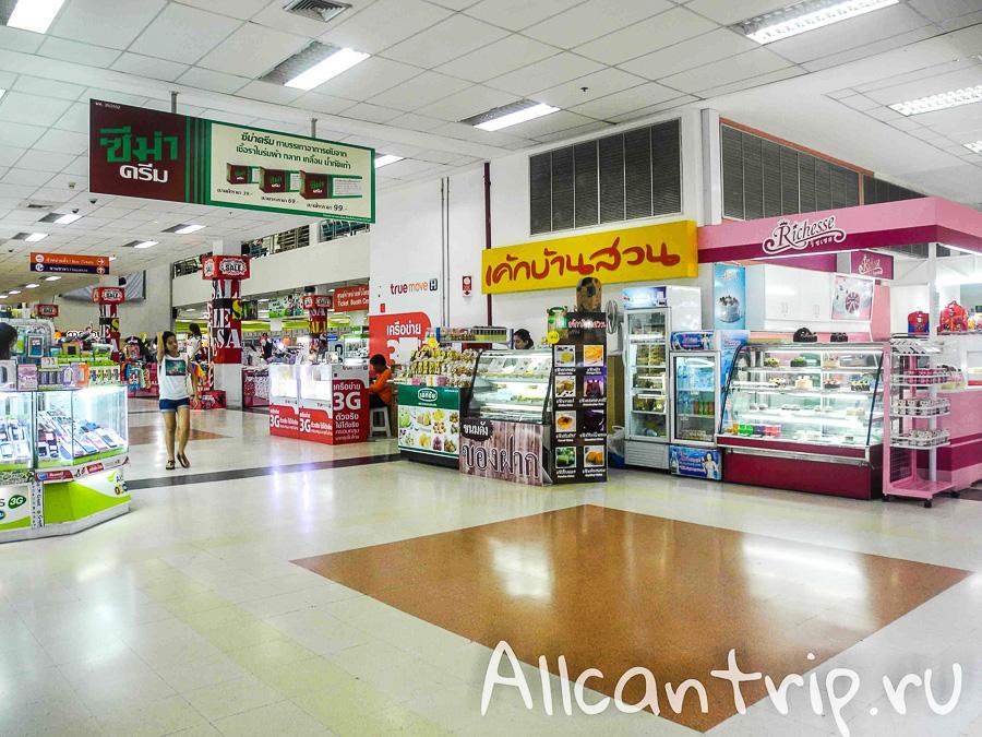 Где поесть в южном автовокзале Бангкока