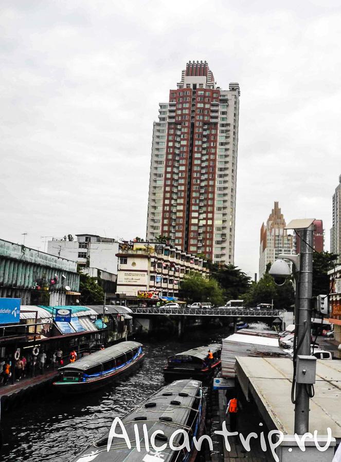 Пирс Pratunam в Бангкоке