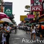 Главная туристическая улица в Бангкоке – Каосан роад, фото и видео