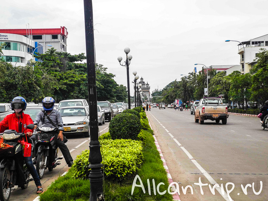 Вьентьян - столица Лаоса